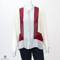 Colorblock Blouse