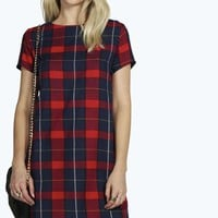 Sadie Checked Shift Dress