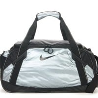 Nike Women Girl Gym Duffle Bag (Silver)