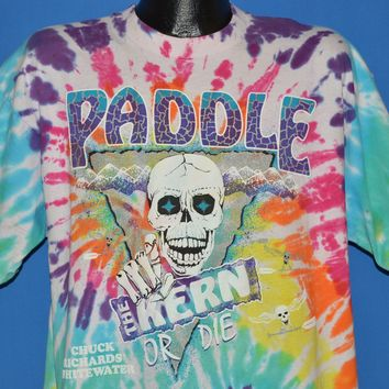 90s Paddle The Kern Or Die t-shirt Extra Large