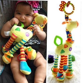 Baby Toy - Soft, Musical, Stuffed - Giraffe Animal