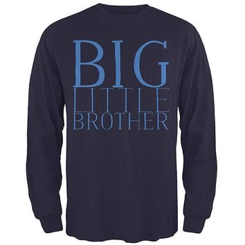 Big Little Brother Mens Long Sleeve T Shirt