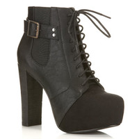 Bexs Lace Up Boot