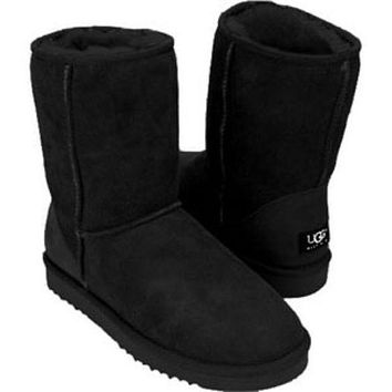 UGG Woman Men Fashion Wool Snow Boots
