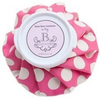 Bella Il Fiore Boo Boo Couture Ice Bag Hot Pink Polka Dot