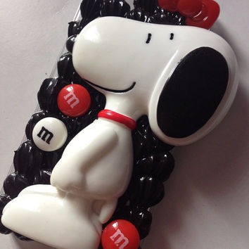 iPhone 5 handmade snoopy decoden case