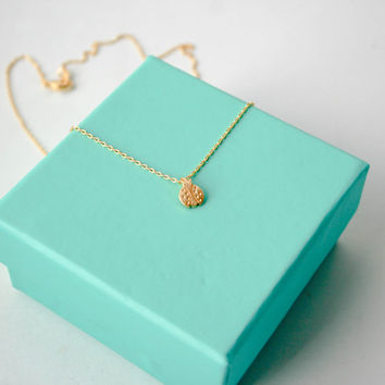 Gold Lady Bug Necklace, Dainty Lady Bug, Lucky Lady Bug Tiny Delicate Necklace, Small Lady Bug Necklace