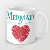 Mermaid at Heart Mug by Emily Anne Design