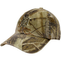 '47 Brand Detroit Tigers Real Tree Camo Franchise Fitted Hat