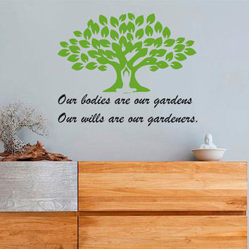 Wall Decal Vinyl Sticker Decals Art Home Decor Design Murals Sport Decals Health Quotes Decal Yoga Studio Decals Yoga Quotes Decals OP26