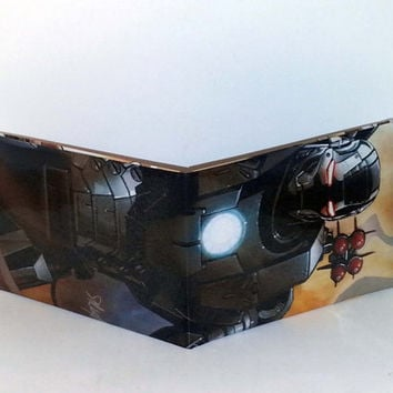 Black Friday Sale// Comic Book Wallet// War Machine