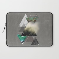 Triangles Symphony Laptop Sleeve by Cafelab