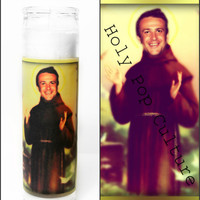 Saint Jason Segel Prayer Candle - Nick Andopolis - Freaks and Geeks - Religious Humour - Kitsch - Christmas Gag Gift