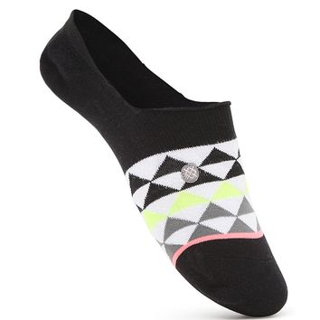 Stance Triadular Geo Print Ankle Socks - Womens Scarves - Gray - One