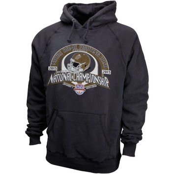 Notre Dame Fighting Irish 2013 National Championship Golden Dome Hooded Sweatshirt - Navy Blue - http://www.shareasale.com/m-pr.cfm?merchantID=7124&userID=1042934&productID=540360067 / Notre Dame Fighting Irish