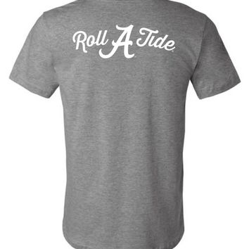 Official NCAA Venley University of Alabama Crimson Tide UA ROLL TIDE! Unisex T-Shirt - 35AL-25