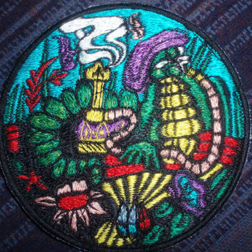 Caterpillar - Hookah - Patch - Alice in Wonderland - Collectible