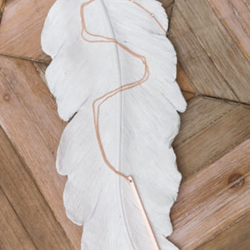The Straight And Narrow Necklace, Rose Gold