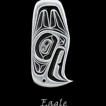 Eagle Pendant in Pewter by Frederick Design (Style #210)