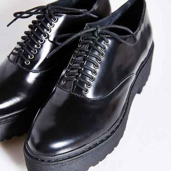 Jeffrey Campbell Baird Oxford- Black