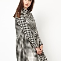 The WhitePepper Shirt Dress in Check at asos.com