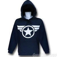 Captain America Super Soldier Pullover Hoodie