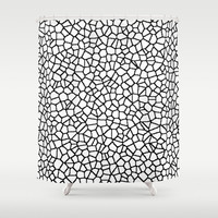 staklo Shower Curtain by Trebam