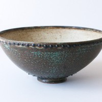 Ancient Earth Tones Bowl Stoneware by DiTerra on Etsy