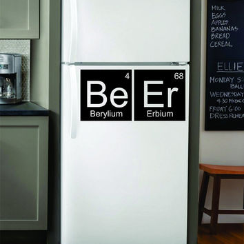 Periodic Table Science Kitchen Design Decal Sticker Wall Vinyl Decor Art Home