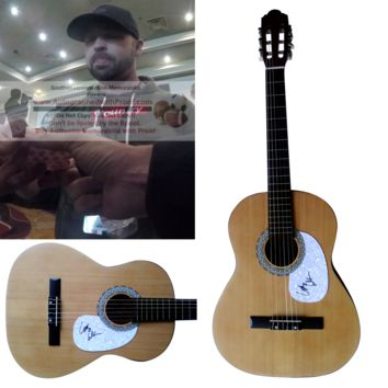 Cody Alan Autographed Full Size 39 Inch Country Music Acoustic Guitar, Proof Photo