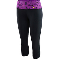 NIKE Women's Legend 2.0 Novelty Tight-Fit Capris