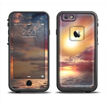 The Fiery Metorite Apple iPhone 6 LifeProof Fre Case Skin Set