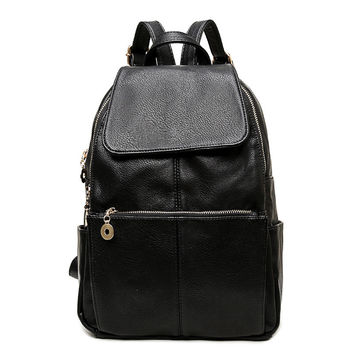 College On Sale Casual Back To School Hot Deal Comfort Soft Korean Fashion Stylish Ladies Bags Backpack [6542321603]