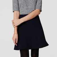 Seamed Flippy Skirt | LOFT