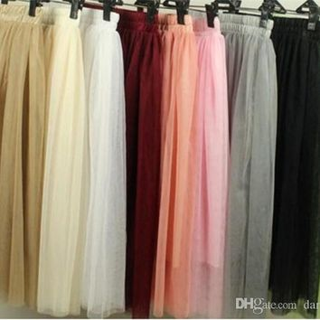 Real Picture Knee Length White Tulle Tutu Skirts For Adults Custom Made A-Line Cheap Party Prom Dresses Women Clothing Tulle Ski