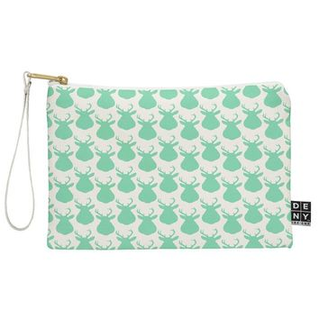 Allyson Johnson Minty Deer Pouch