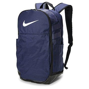 Nike Brasilia (Extra Large) Training Backpack Midnight Navy/Black/White Size X-Large