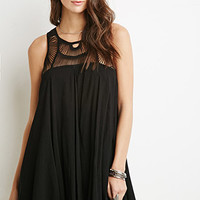 Macramé Trapeze Dress