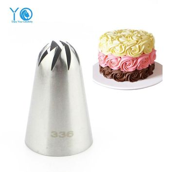 Large Size Icing Nozzle Decorating Tip Sugarcraft Cake Decorating Tools Baking Tools Bakeware