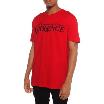 Violence T Shirt Red