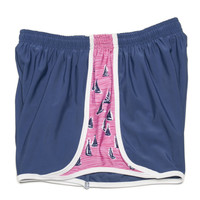 Sailboat Shorts in Navy by Krass & Co.