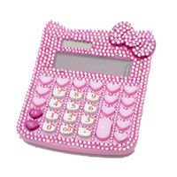 Hello Kitty Glam Blinged Calculator- Tanya Kara Jewelry