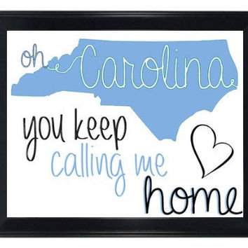 UNC Picture Frame