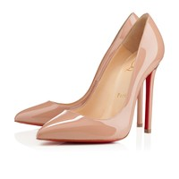 Pigalle 120mm Nude Patent Leather