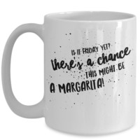 It's Friday Margarita Mug