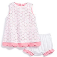 Infant Girl's Luli & Me Eyelet A-Line Sundress