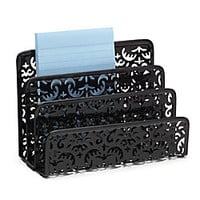 Realspace Brocade Letter Sorter Black by Office Depot