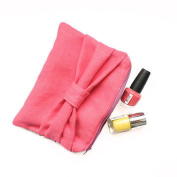 Makeup bag pattern - cosmetic zipper pouch pattern