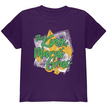 The King of Mardi Gras Youth T Shirt