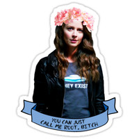 'you can just call me root, bitch - PERSON OF INTEREST' Sticker by seeleybooth